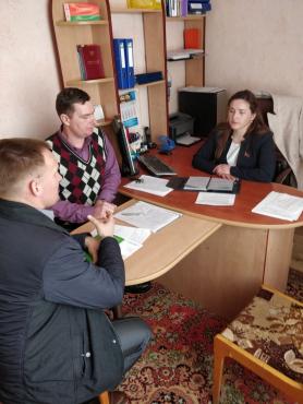 Прием граждан в г. Белоозёрске