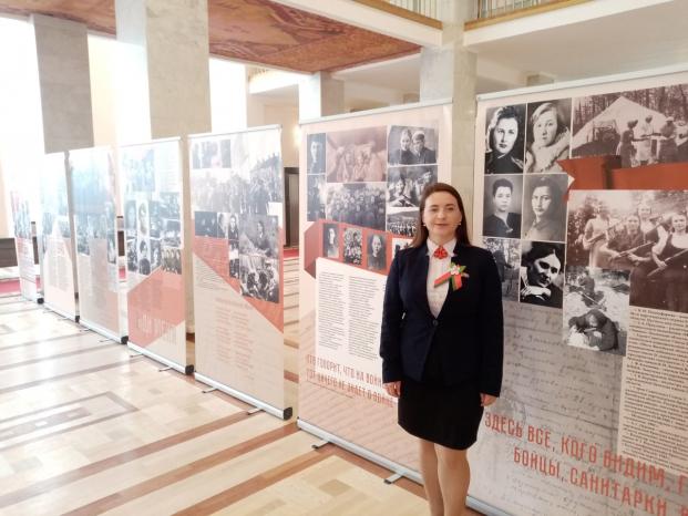 Участие в выставке к 75-летию Победы